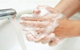 håndvask på resturant